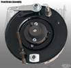 Harley-Davidson 45 springer front drum brake