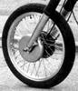 Harley-Davidson big twin dual Hydra-Glide front drum brake