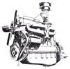 G.M.C. six cylinder engine