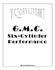 G.M.C. Six-cylinder Performance