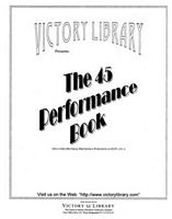 "Click here for a full-size view of the ""45 Performance"" book cover"