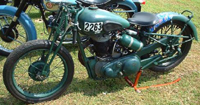 Bill (Shogun) Jenkins BSA M20