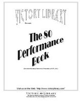 "Click here for a full-size view of the ""80 Performance"" book cover"