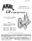 Amal GP Carburetor Tuning