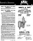 Amal Standard Carburetor Tuning