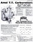 Amal TT Carburetor Tuning