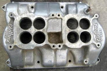 Edelbrock B262 Buick nail-head V8 intake manifold