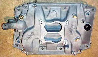Edelbrock B4B late Buick V8 intake manifold