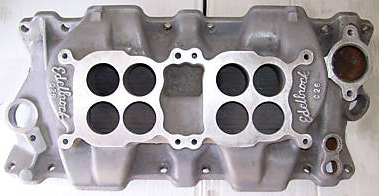 Edelbrock C-26 Chevrolet small block V8 intake manifold