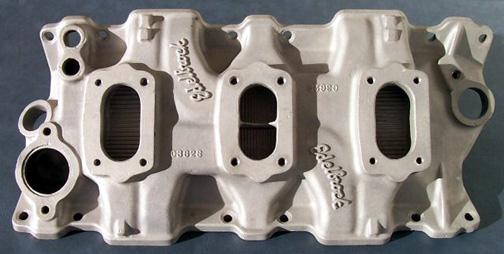 Edelbrock C-362S Chevrolet small block V8 intake manifold