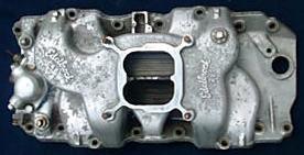 Edelbrock C-427 Chevrolet big block V8 intake manifold