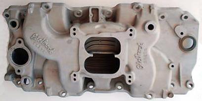 Edelbrock C427X Chevrolet big block V8 intake manifold