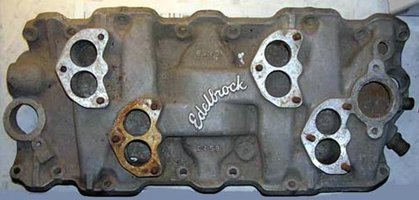 Edelbrock C459.jpg Chevrolet W block V8 intake manifold