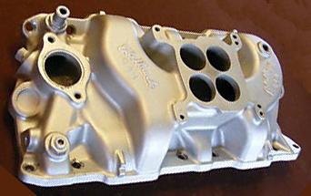 Edelbrock C4B Chevrolet small block V8 intake manifold