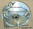 CB77 Honda 305 cam levers in tension
