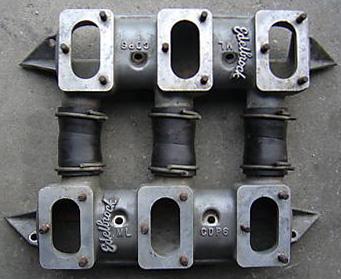 Edelbrock CDP6 Chrysler B & RB V8 intake manifold