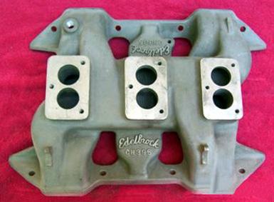 Edelbrock CH396 Chrysler RB V8 intake manifold