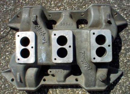 Edelbrock DP390 Chrysler B V8 intake manifold