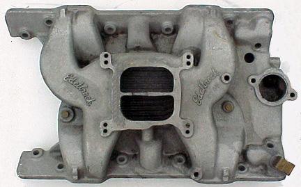 Edelbrock EP-4B early Pontiac V8 intake manifold