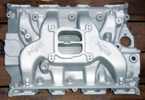 Edelbrock F-427 Ford FE V8 intake manifold