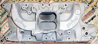 Edelbrock F4B Ford Windsor V8 intake manifold