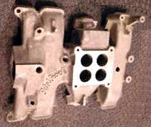Edelbrock F548 Ford Y-block V8 intake manifold