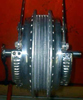 Suzuki GT750 4LS front drum brake