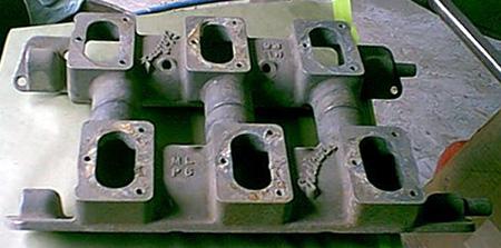 Edelbrock P6 Ford LME V8 intake manifold