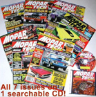 """Mopar Action"" Magazine 7-Issue Tech Reference Library"