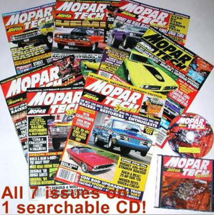 Mopar Action Tech Special on CD