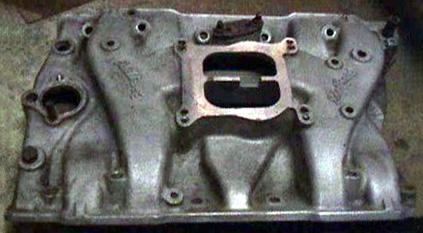 Edelbrock O4B late Olds V8 intake manifold