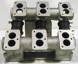 Edelbrock OE6 ML Olds Rocket tall deck V8 intake manifold