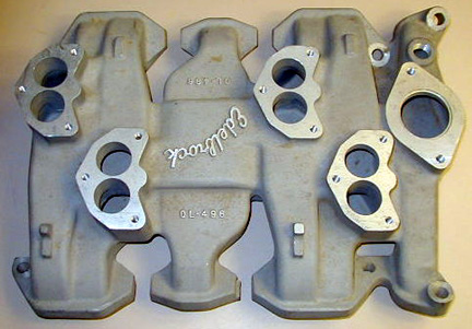 Edelbrock OL-496 Olds Rocket low deck V8 intake manifold