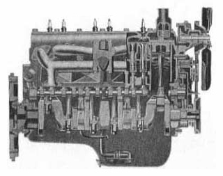 Chrysler 230 side-valve six cylinder engine