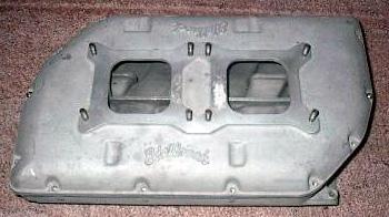 Edelbrock RR-1 Chrysler hemi V8 intake manifold