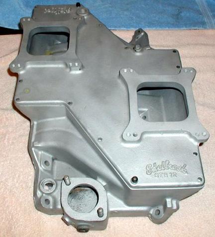 Edelbrock STR-12 Chrysler LA V8 intake manifold