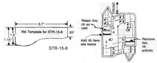 Edelbrock STR-15 Chrysler B V8 intake manifold