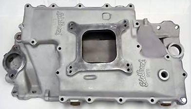 Edelbrock SY1 Chevrolet small block V8 intake manifold