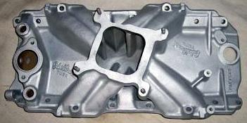 Edelbrock TM2R Chevrolet big block V8 intake manifold