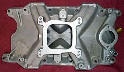 Edelbrock TM-5 Chrysler LA V8 intake manifold