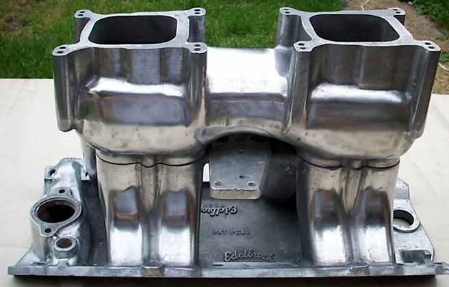 Edelbrock TR2X Chevrolet big block V8 intake manifold