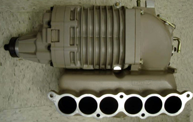 Adapting a generic Eaton supercharger to the Toyota 3MZ-FE