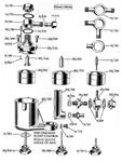 """Amal """"TT"""" Carburetor 302 Float Bowl Diagram"""