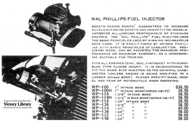 Wal Phillips Fuel Injection