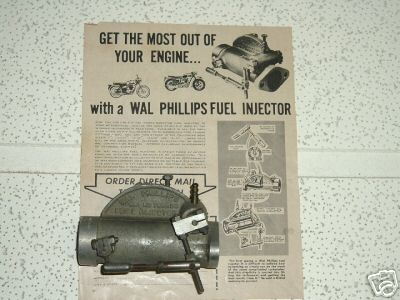 Wal Phillips Fuel Injector