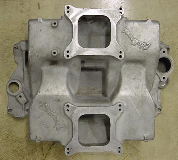 Edelbrock X-C8 Chevrolet small block V8 intake manifold