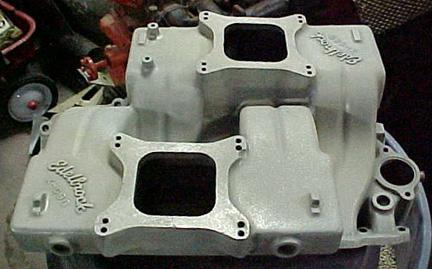 Edelbrock X-C96 Chevrolet big block V8 intake manifold