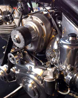 Supercharger Drive Methods on Older Motorcycles