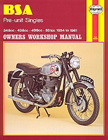 BSA Pre-unit Singles Owners Workshop Manual, by Mansur Darlington