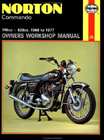 Norton Commando Owners Workshop Manual: 750, 850, by Jeff Clew